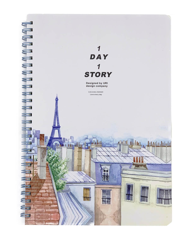 Caderno B5 Paris