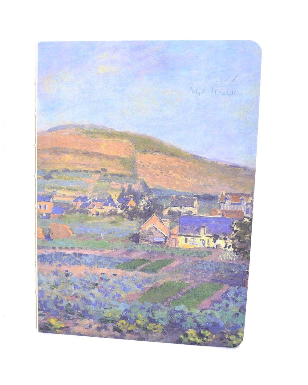Caderno Pinceladas de Monet