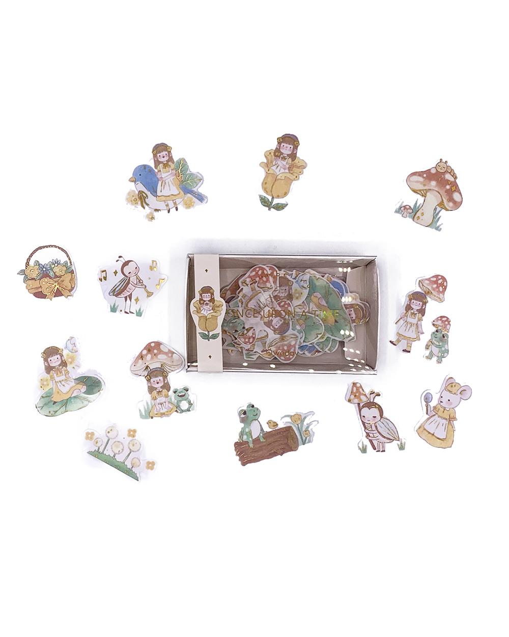 Caixinha de adesivos Fairytale - Polegarzinha