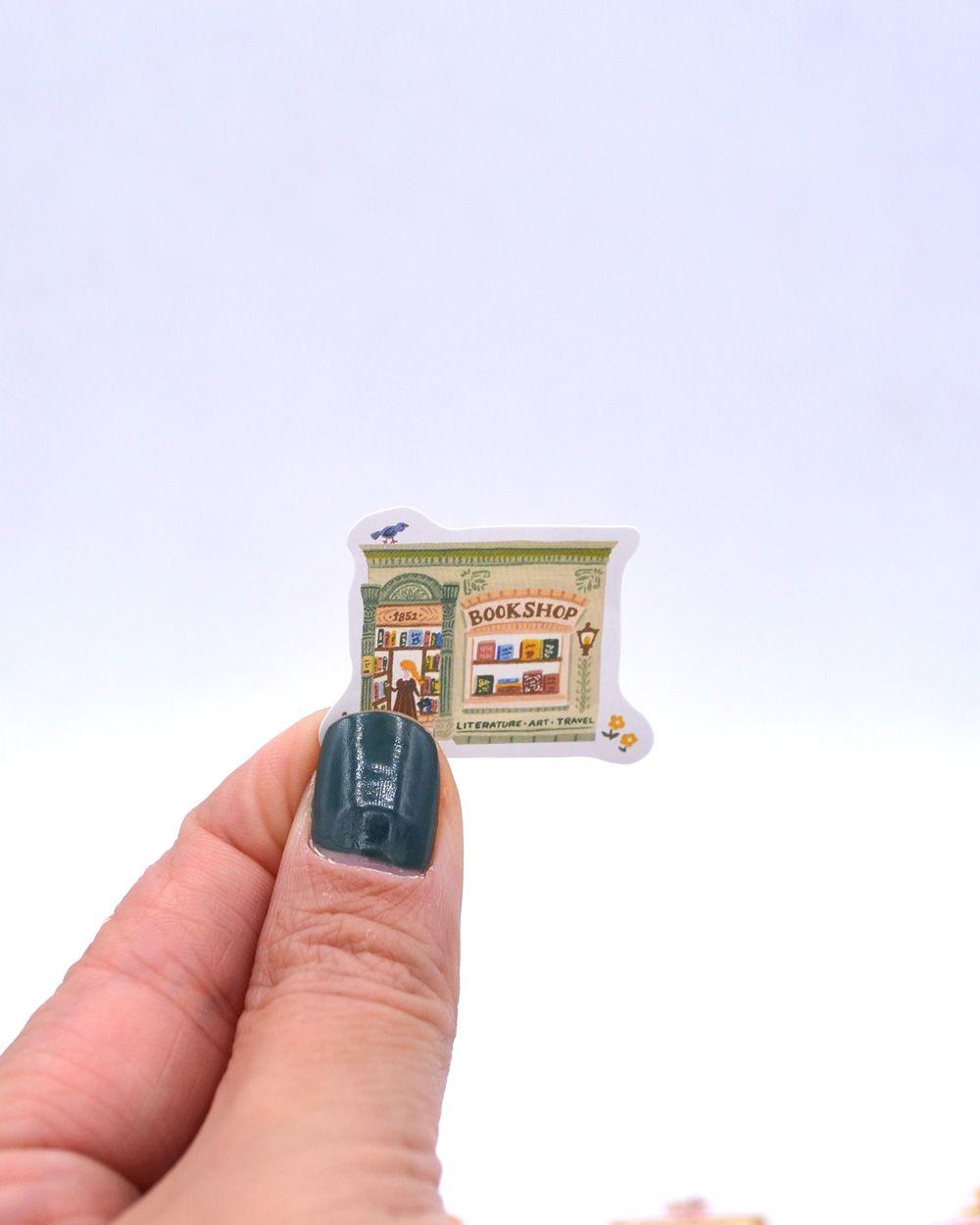 Caixinha de adesivos - Lojinhas II