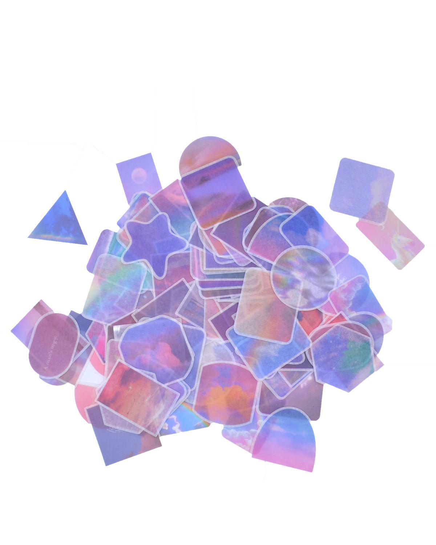Caixinha de adesivos - Unicórnio