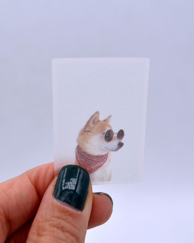 Caixinha de adesivos - White