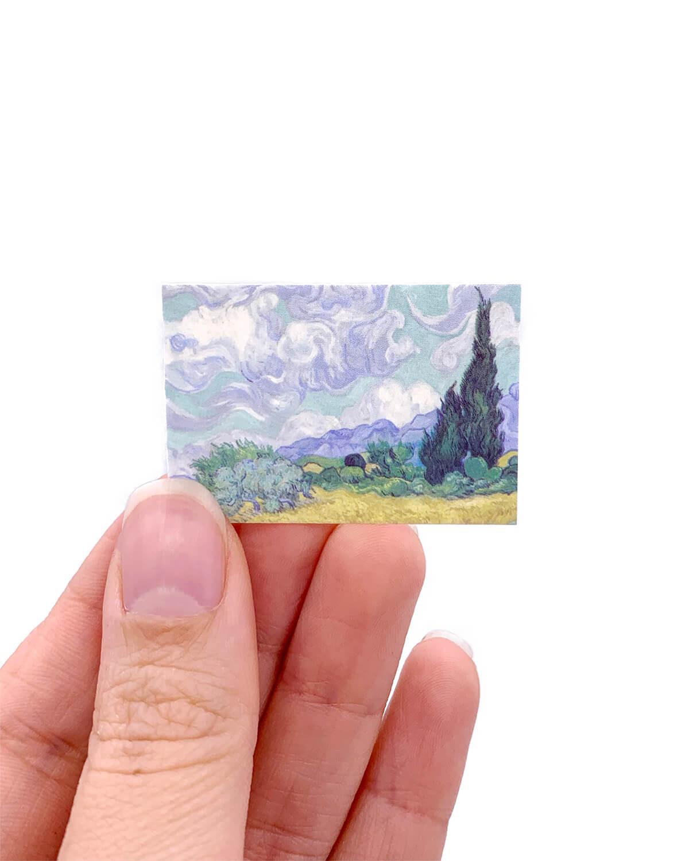Caixinha de mini cards Van Gogh
