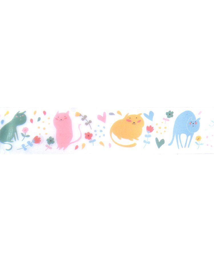 Fita adesiva PVC - Animal Party