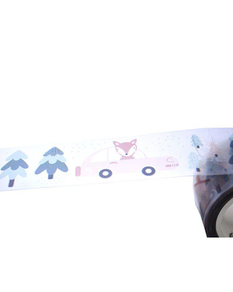 Fita adesiva PVC - Fox and Rabbit