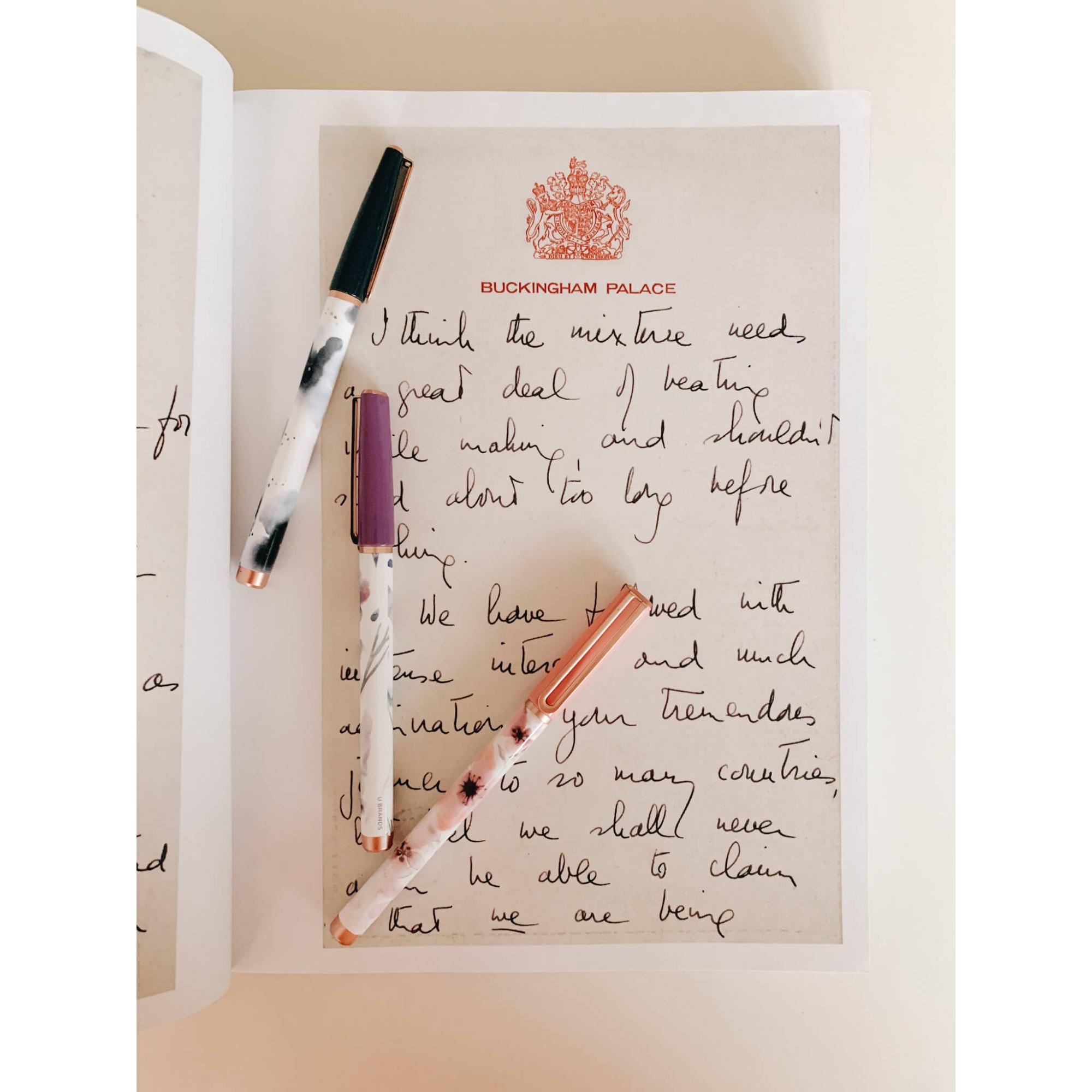 Kit de canetas - Botânica