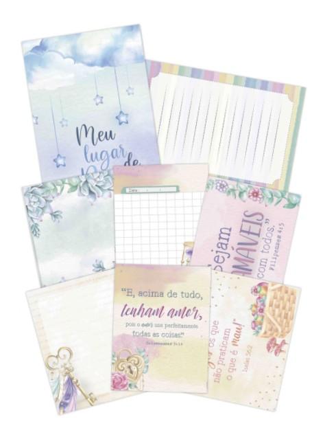 Kit de cards - Vai com fé