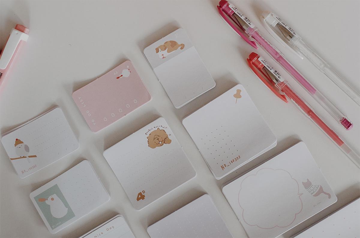 Kit de Memo Sticker - Animals