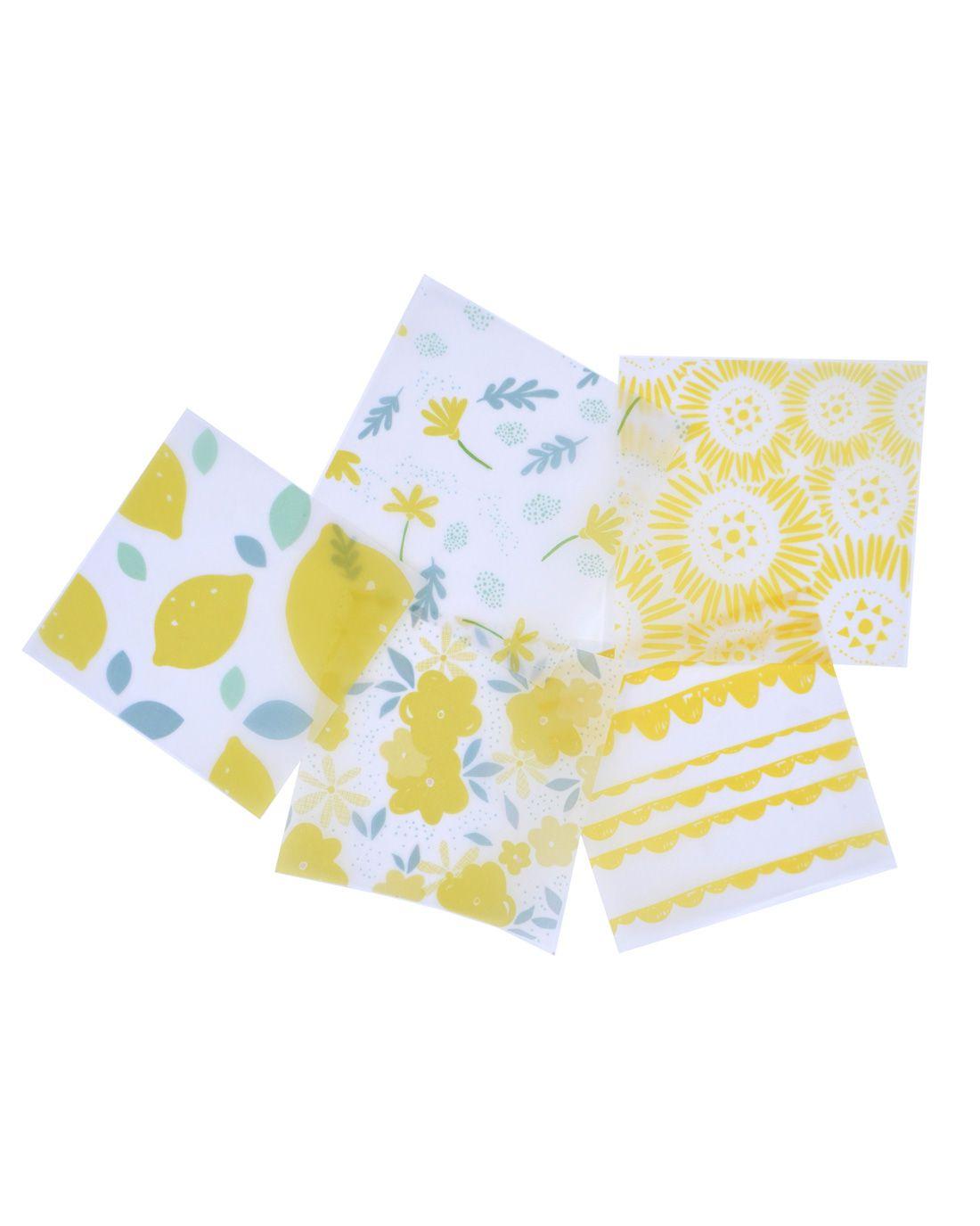 Kit de papel vegetal - Yellow