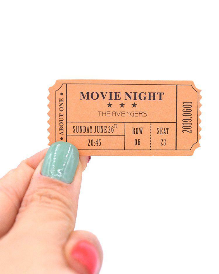 Kit de tickets vintage