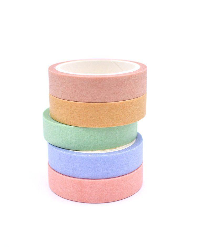 Kit de Washi tape - Macaron