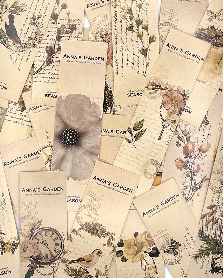 Marca página - Anna's Garden