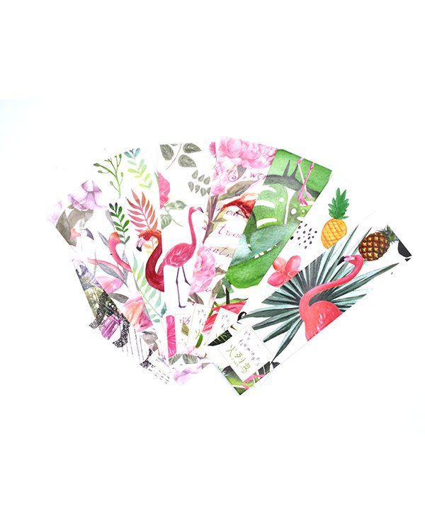 Marca página - Flamingo