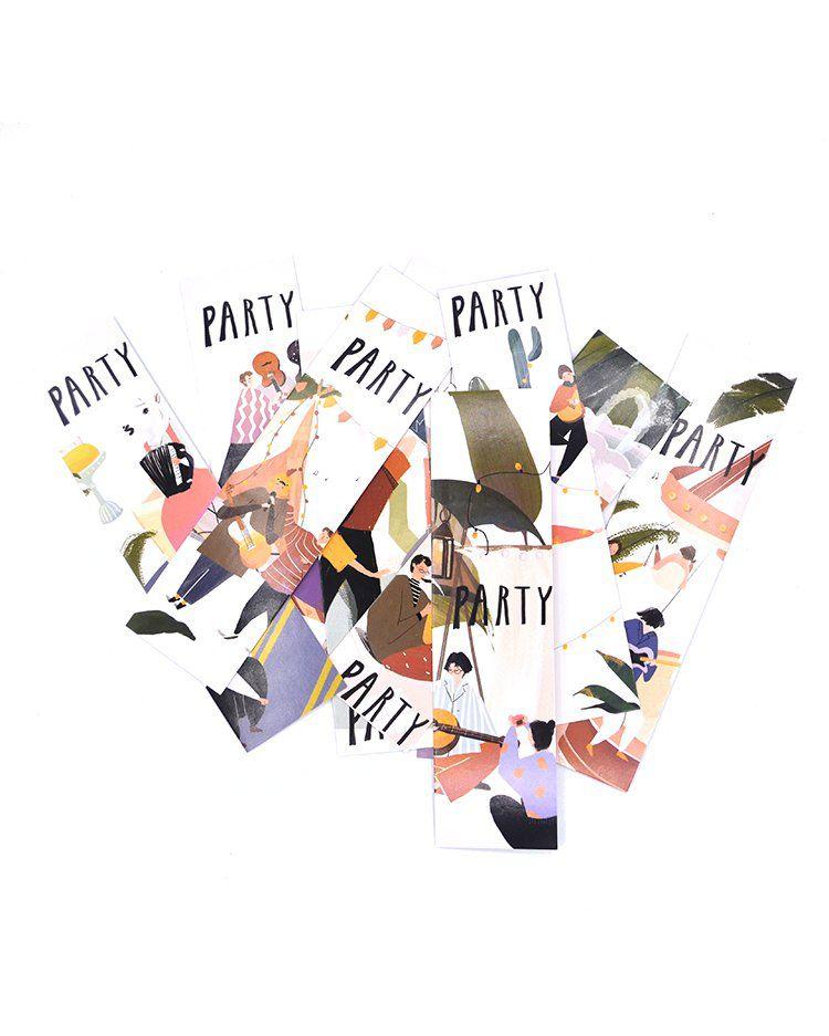 Marca página - Party