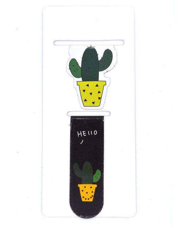 Marcador magnético - Cactus