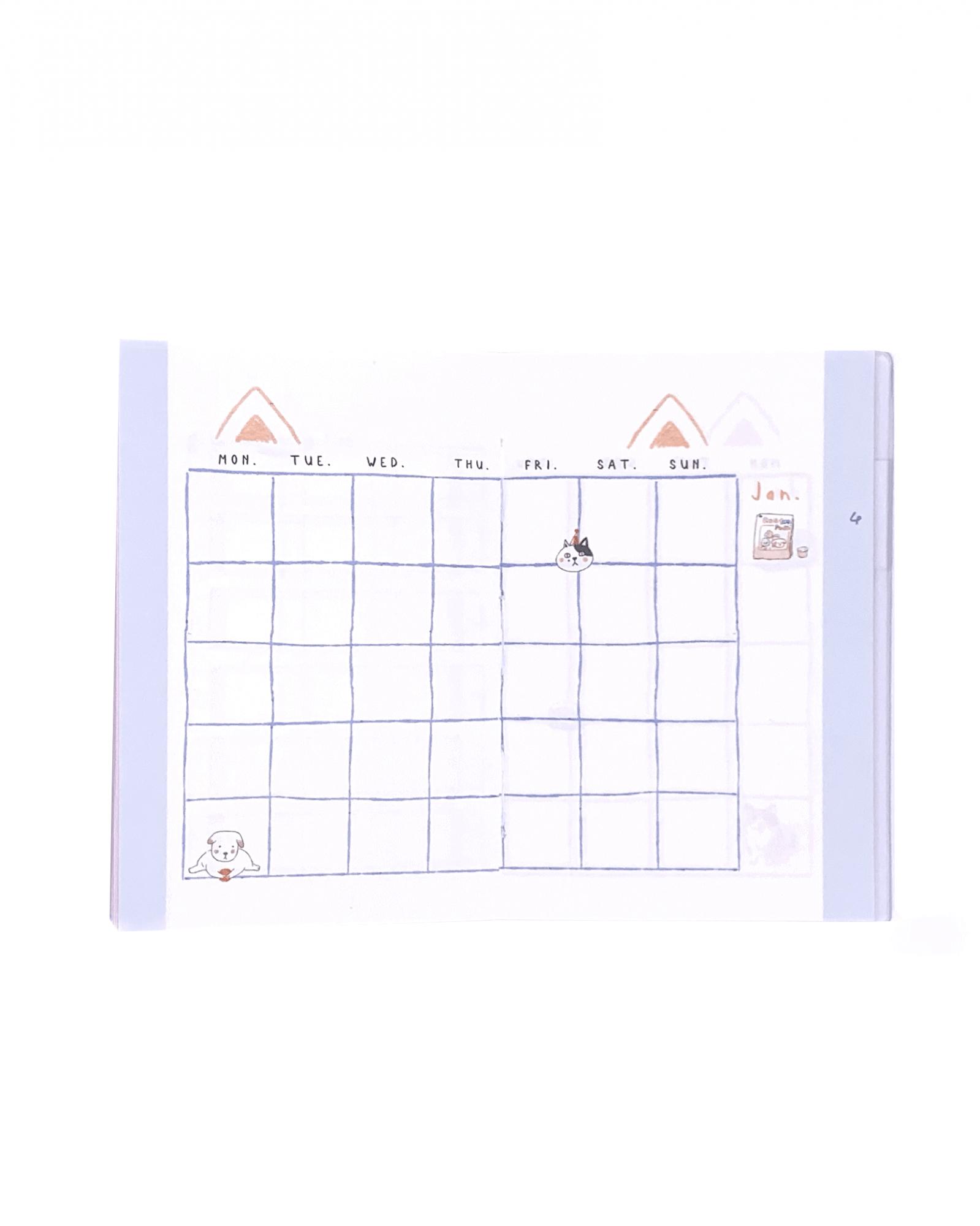 Mini planner