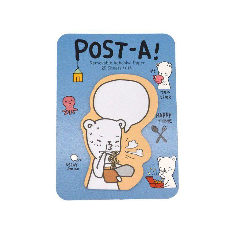 Mini post-it Pandinha Pony Brown