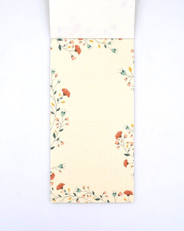 Notepad - Floral