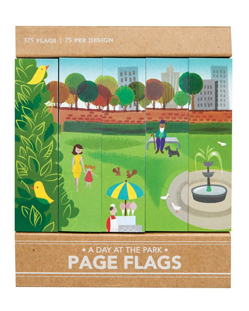 Page flags - A Day at the park