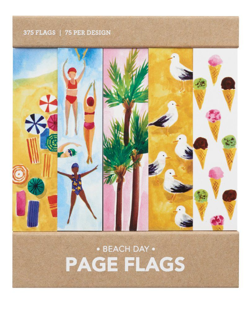 Page flags - Beach Day