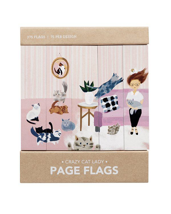 Page flags - Cat Lady