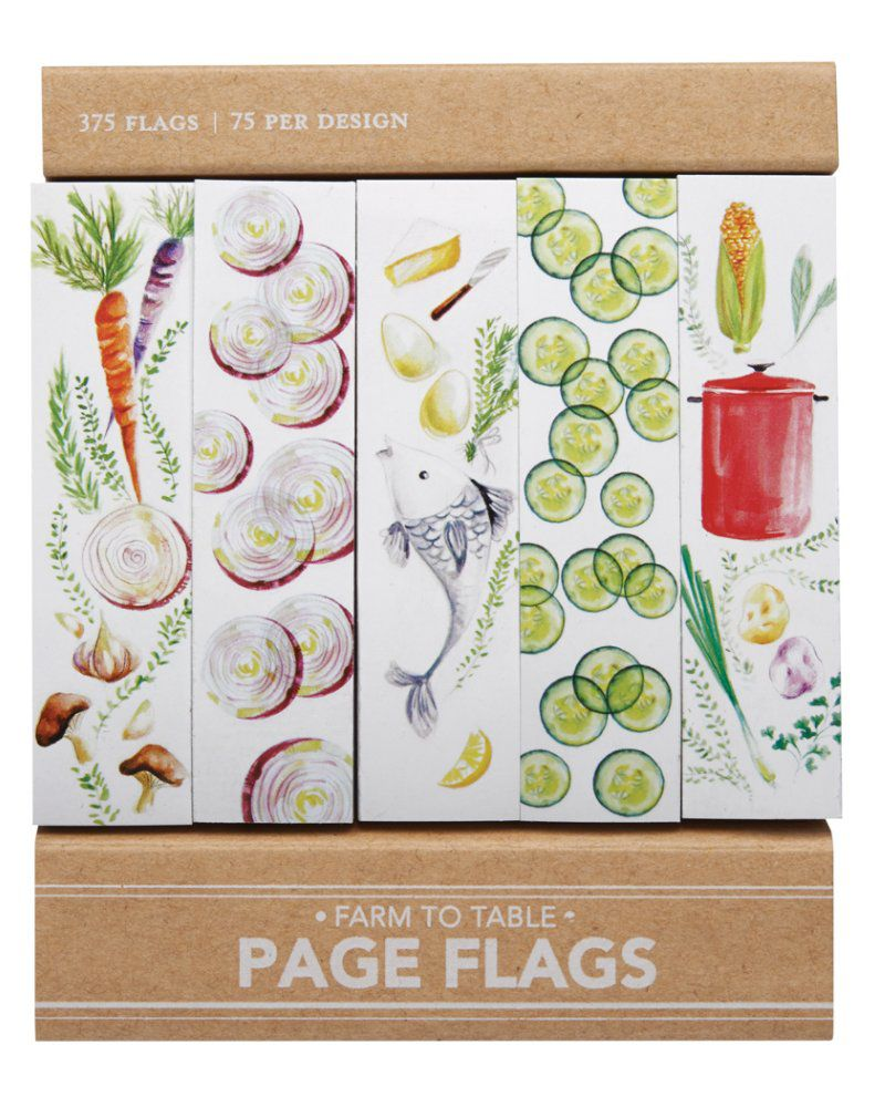 Page flags - Farm to table