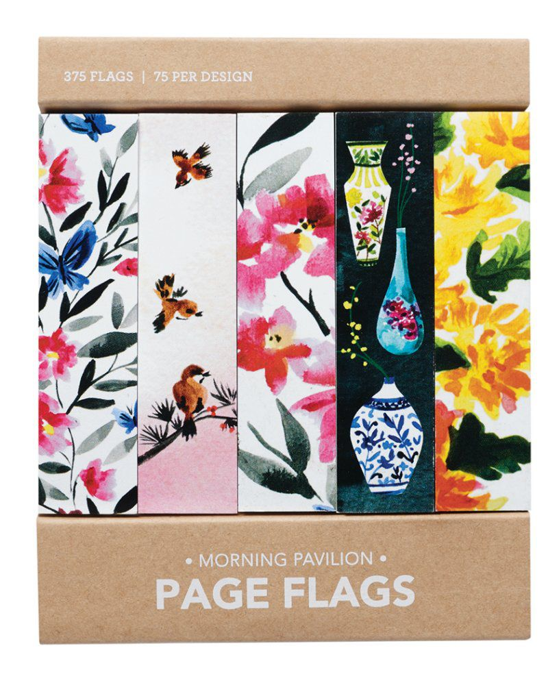 Page flags - Morning Pavilion