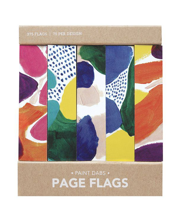 Page flags - Paint Dabs
