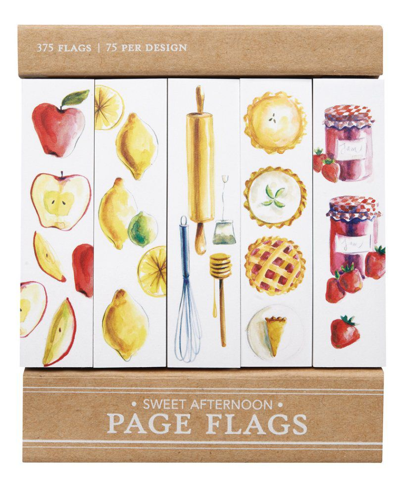 Page flags - Sweet Afternoon