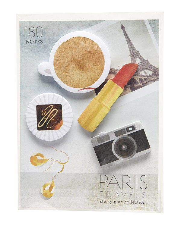 Post-its - Paris travel