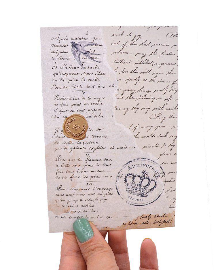 Postal - Cartas Antigas