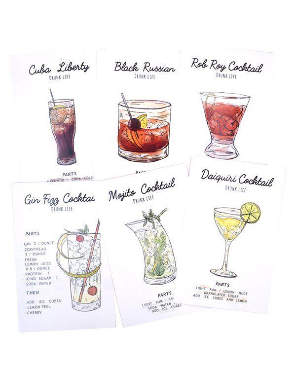 Postal - Cocktails
