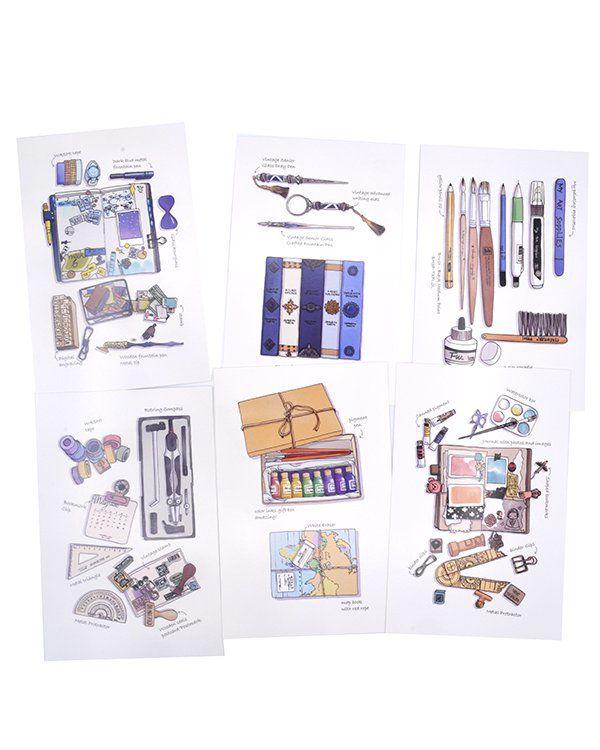 Postal - Desenho