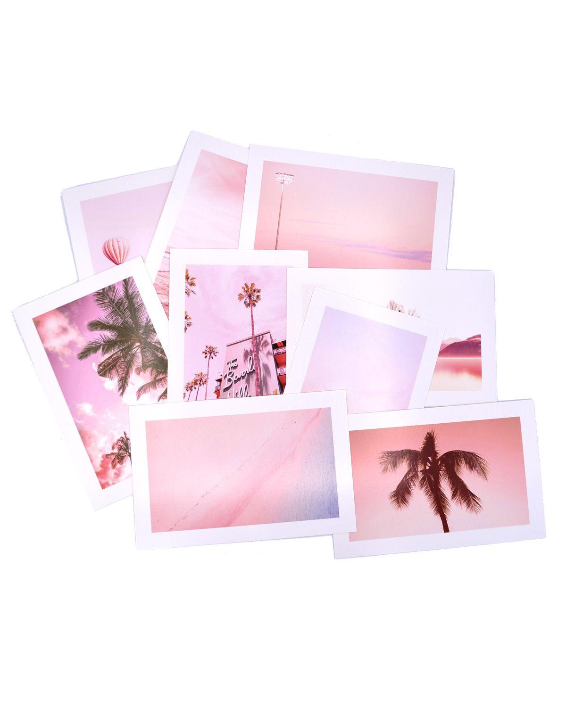 Postal - Pink Frame
