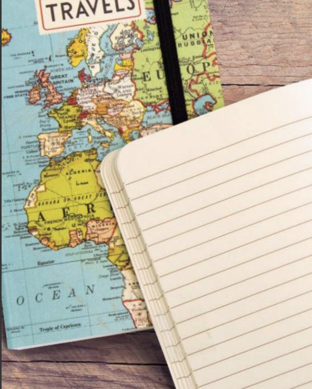 PRÉ-VENDA LINHA SPECIALS Caderno Grande World Map (LEIA A DESCRIÇÃO)