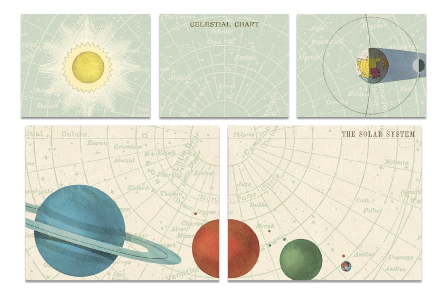 PRÉ-VENDA LINHA SPECIALS Conjunto de Post-it Celestial (LEIA A DESCRIÇÃO)