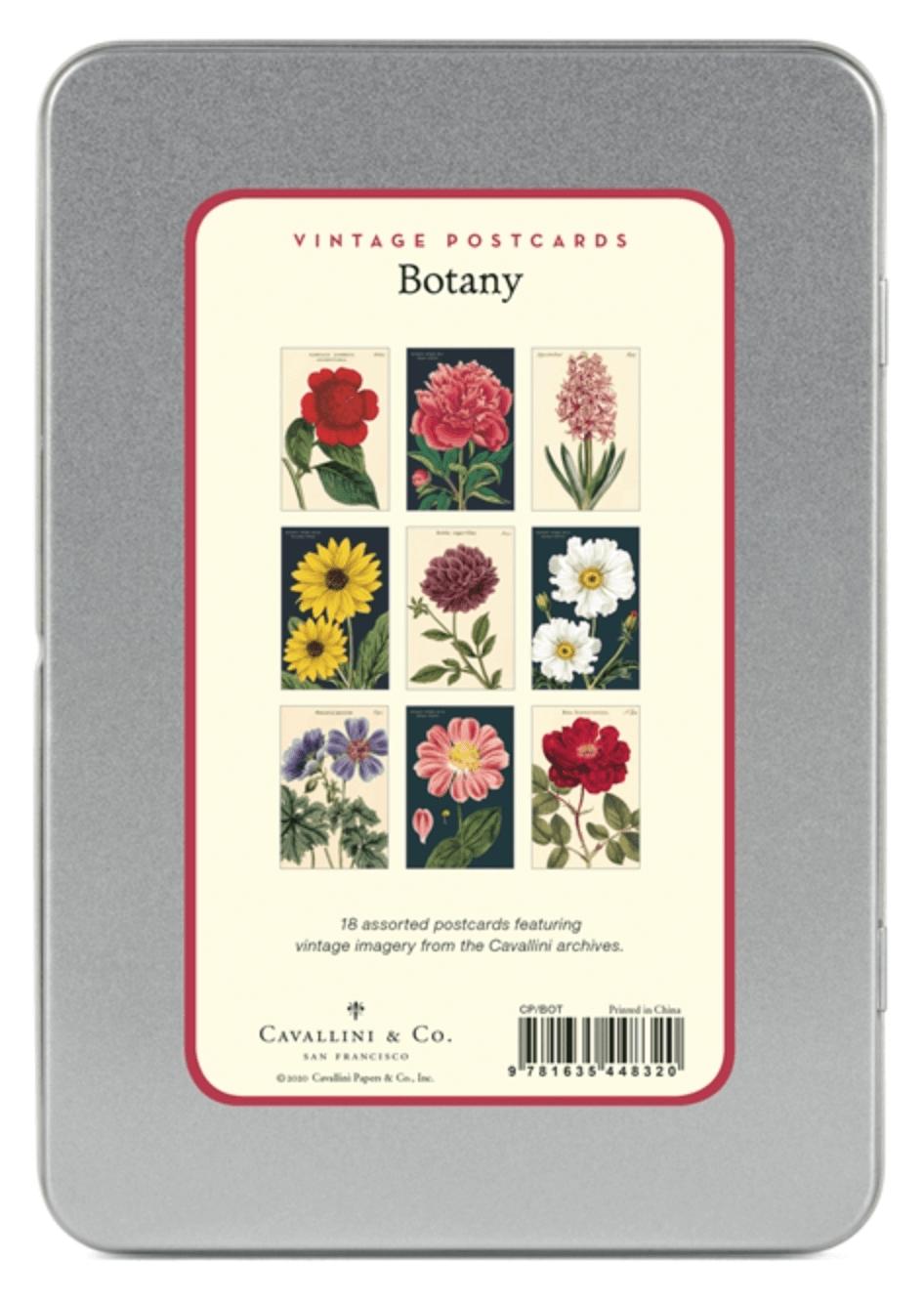 PRÉ-VENDA LINHA SPECIALS Postais Vintage Botanica (LEIA A DESCRIÇÃO)
