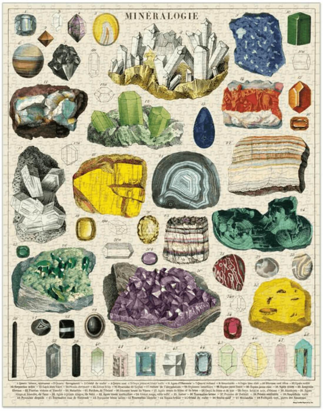 LINHA SPECIALS Quebra cabeça Mineralogy