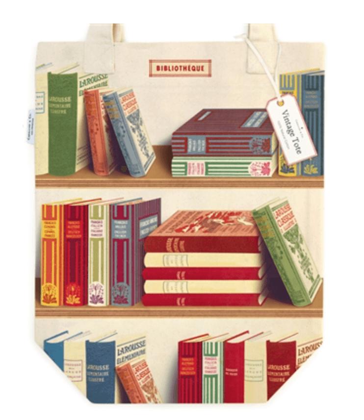 LINHA SPECIALS Tote Bag Library Books