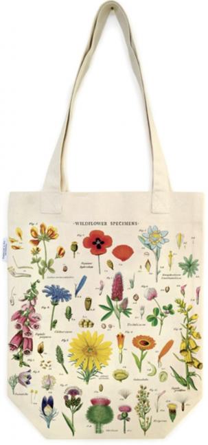 LINHA SPECIALS Wild Flowers Tote Bag