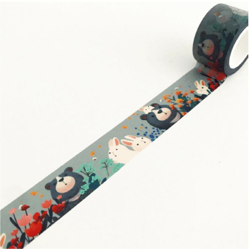 LINHA SPECIALS - Washi tape Bear