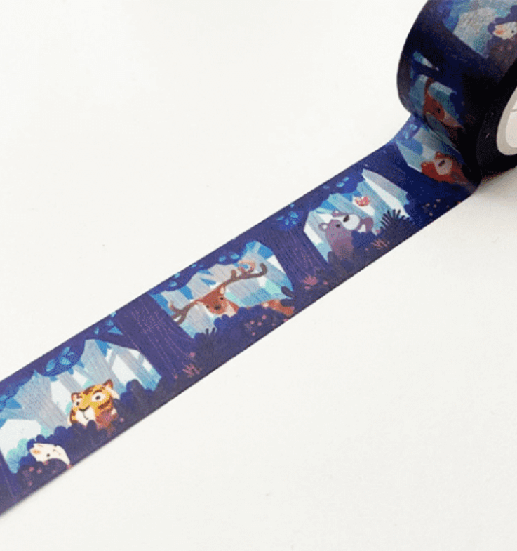 LINHA SPECIALS - Washi tape Hide and Seek