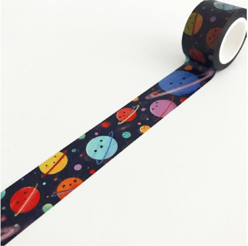 LINHA SPECIALS - Washi tape Planets