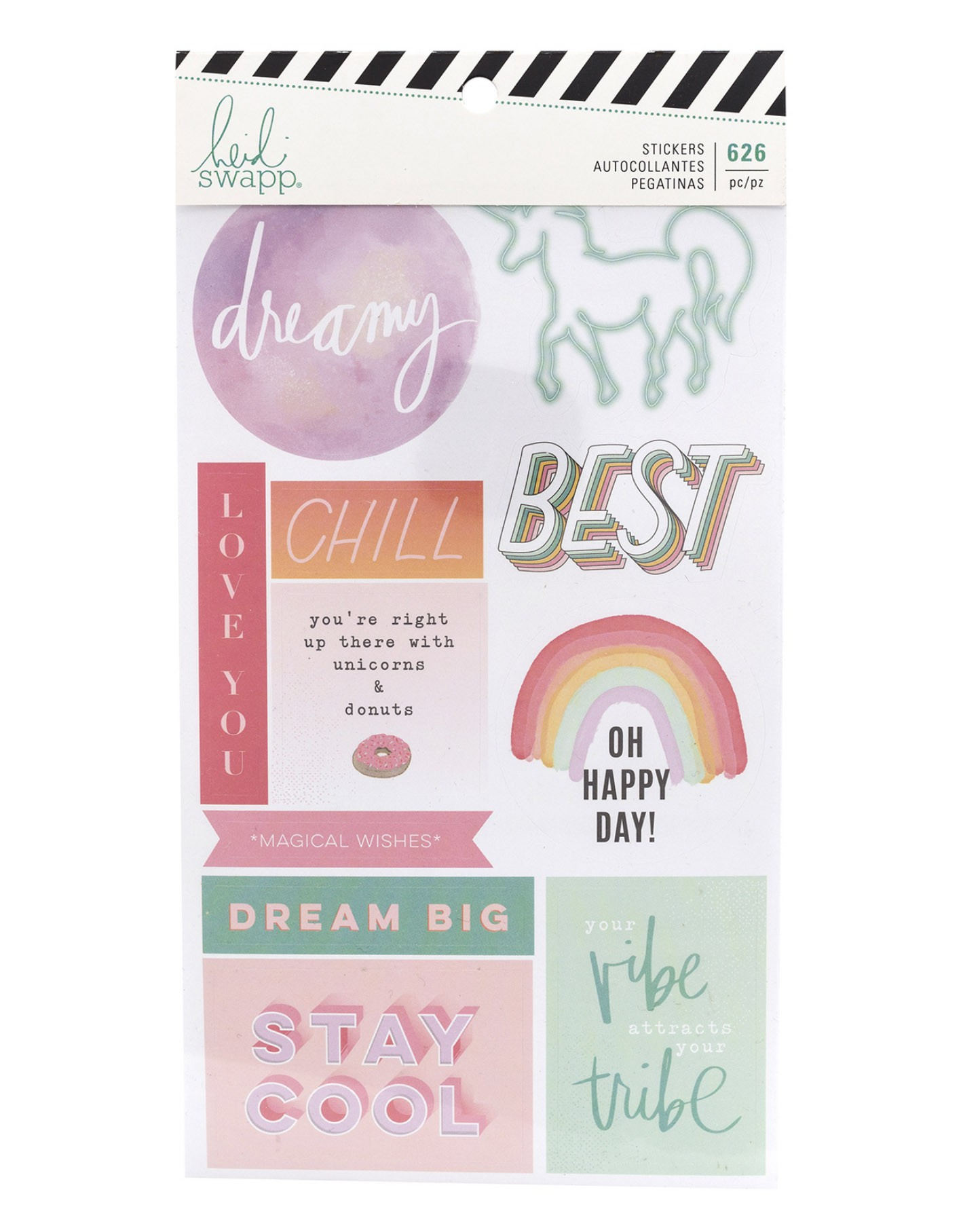 Sticker Book - Heidi Swapp 626 adesivos