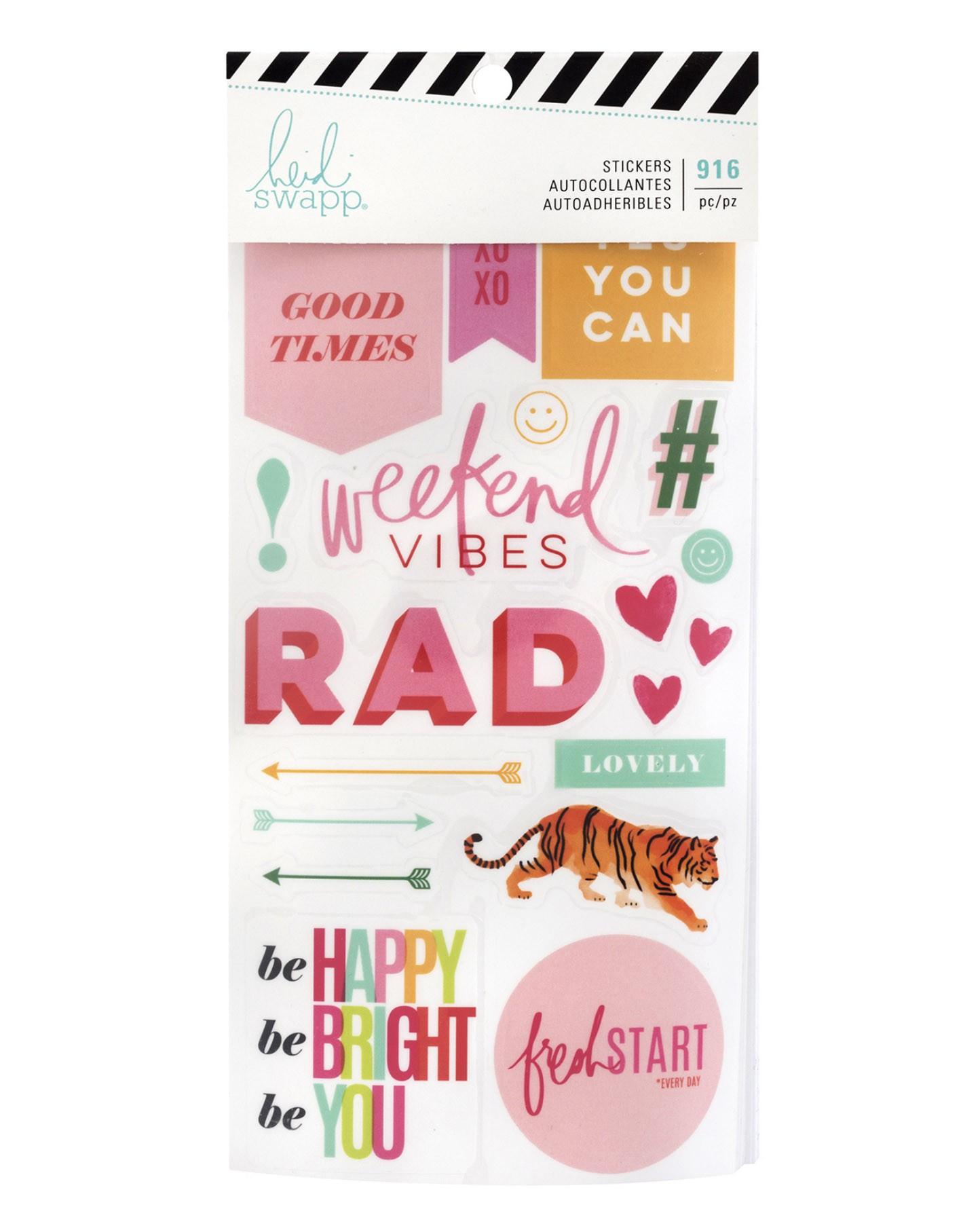 Sticker Book - Heidi Swapp 916 adesivos