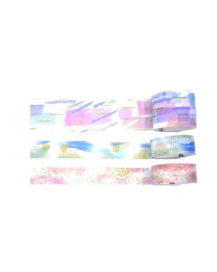 Trio de washi tapes - Dream