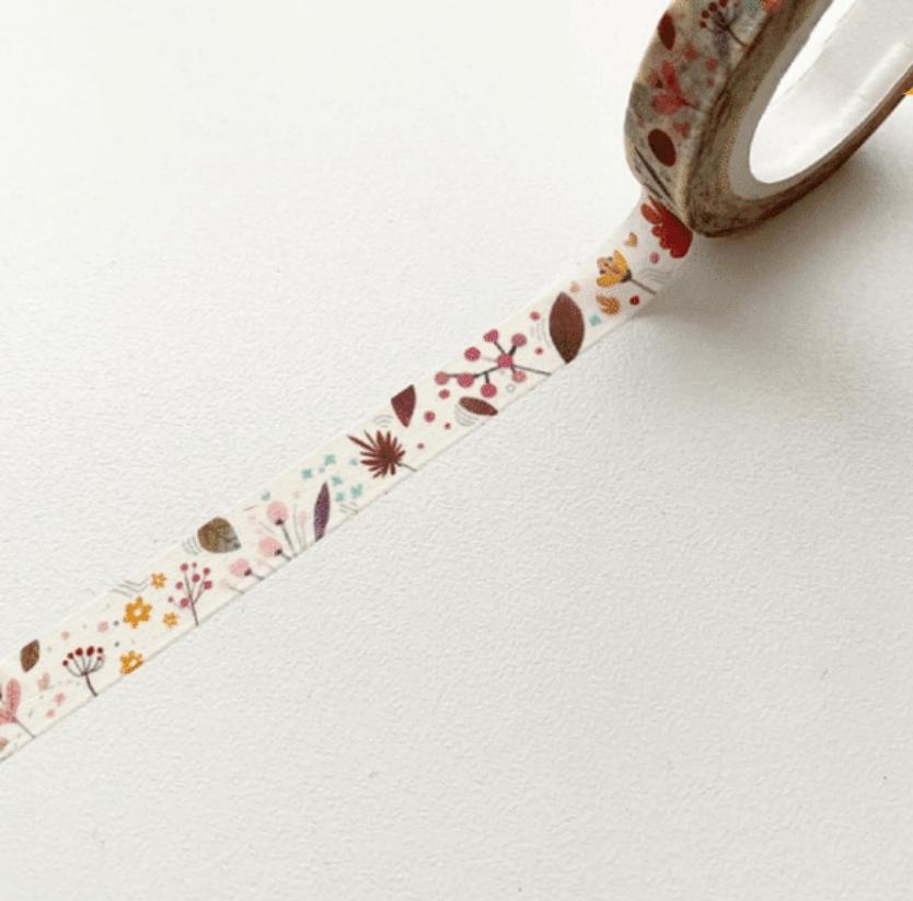 LINHA SPECIALS - Washi tape Floral