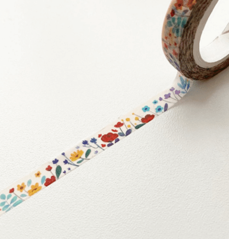 LINHA SPECIALS - Washi tape Pink Floral