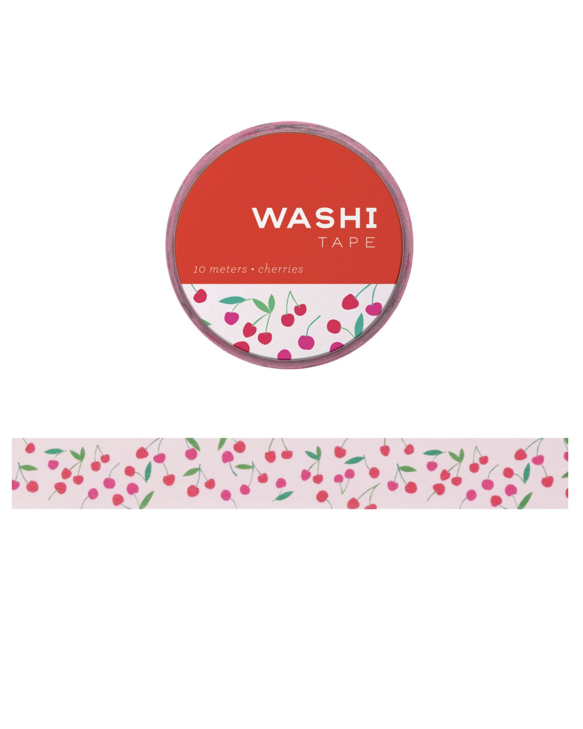 Washi tape - Cherries