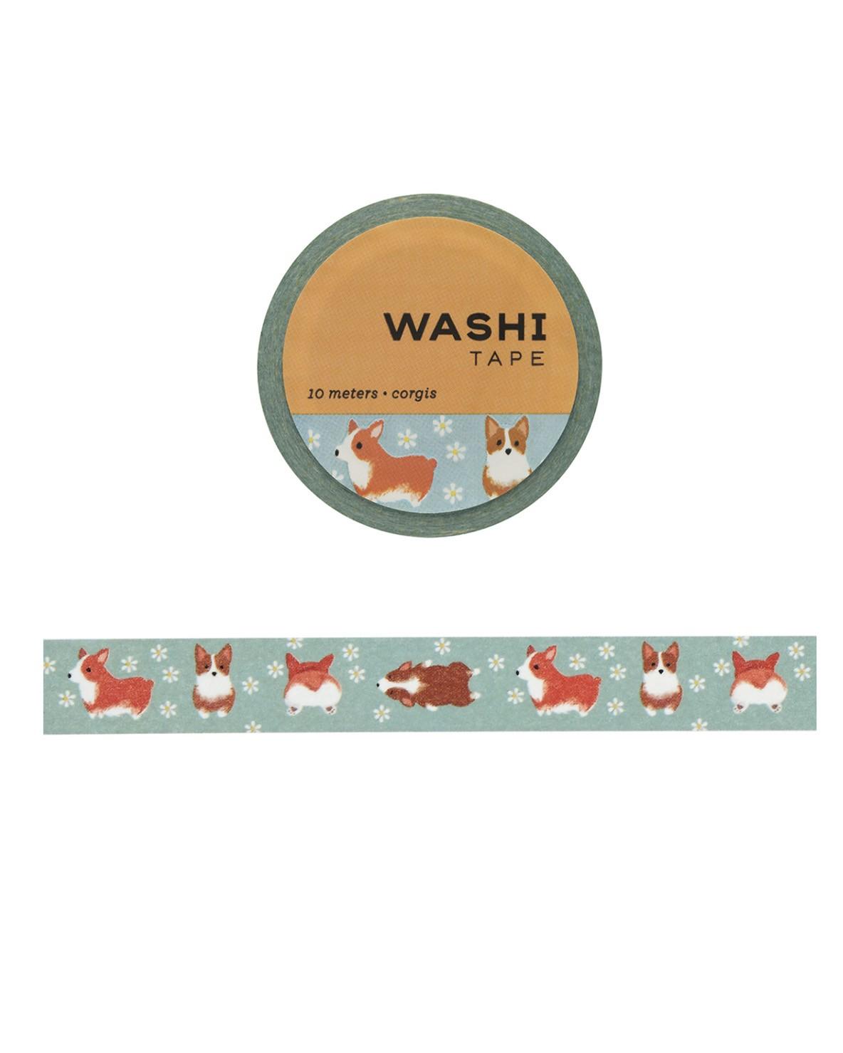 Washi tape - Corgis